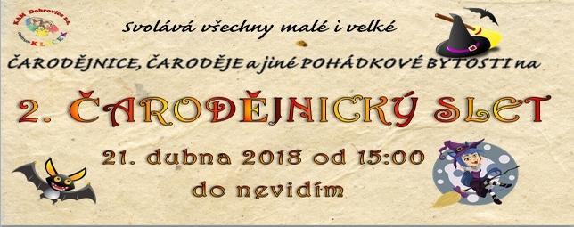 Čarodějnice 2018 - Klíček Dobrovice